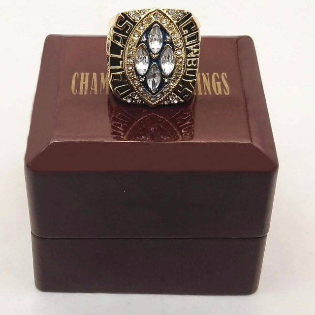 1993 1994 Dallas Cowboy Super Bowl Xxviii Replica Ring